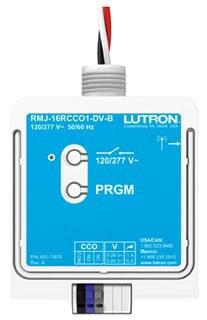 RMJ-16RCCO1-DV-B LUTRON RELAY MODULE W/ CCO 02755782857
