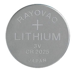 KECR2025-1G RAY 3.0 VOLT LITHIUM BATTERY CARDED