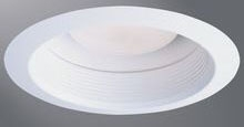 30WAT HAL WHITE AIR-TIGHT TRIM FOR H7