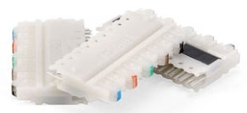 49105-IDC LEV 110 IVORY CONNECTOR BLOCK 10/box