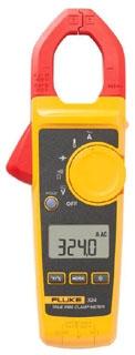 FLUKE-324 FLUKE FLUKE-324,400A AC TRUE RMS CLAMP METER W/TEMP 4152637