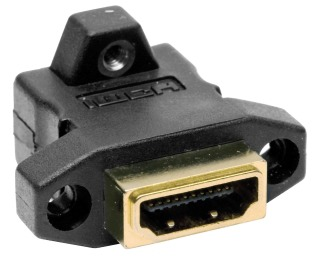 HDMIC14 HUBBELL CONN, HDMI,F/F COUPLER,V1.4