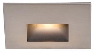 WL-LED100-C-BN WAC HORIZONTAL STEP LIGHT LED NICKEL