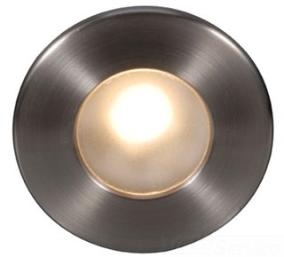 WL-LED310-C-BN WAC LTG LED STEP LIGHT CIRCULAR FACE