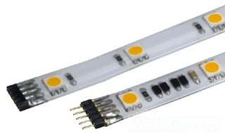 LED-T24P-2IN-WT WAC LTG 24V TAPE LGT