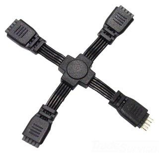 LED-TC-X WAC LTG X-CONNECTOR FOR 24V INVISILED