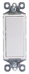 RH-253-W WATTSTOP SINGLE POLE MOMENTARY SWITCH 15A 120VAC; WHITE 75418292154
