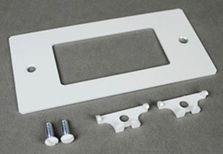 EFB10-DEC WIREMOLD EFB10 DECORATOR STYLE DEVICE PLATE