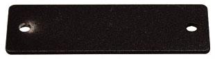 AV9003BK WIREMOLD 1P,BLACK,BLANK PLATE 78677617781