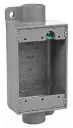 FSC-2M KILLARK 3/4IN FEED THRU SHALLOW IRON 78393604880