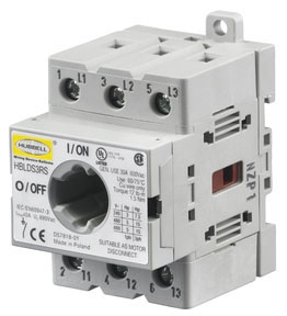 HBLDS3RS HUB 30A CIRCUIT LOCK DISCONNECT INTERIOR