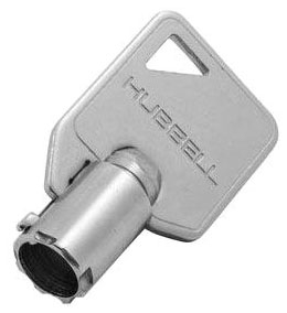 HBL1209RKL HUBBELL REPLACEMENT KEY FOR HBL1221RKL