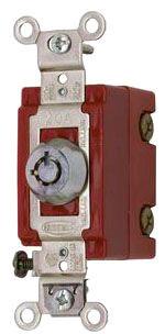 HBL1221RKL HUB 20A 120-277V SP BARREL KEY LOCK 78358543157