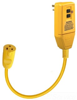 GFP1C HUBBELL 15A 120V GFCI PLUG WITH 1FT LINE CORD 78358569030