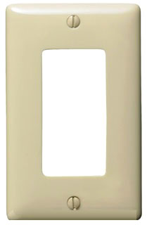 NP26I HUBBELL WALLPLATE, 1-G, 1) RECT, IV 88377810240 25 /min