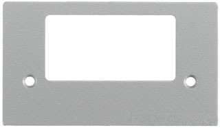 SS2309SLGYA HUBBELL FACE PLATE STYLE LN OPENING GRAY PAINTED 78358532946