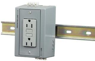 DRUBGFI15 HUB DIN RAIL UTILITY BOX