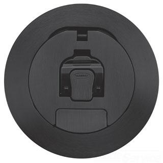 S1R4CVRBLK HUBBELL S1R 4, COVER, BLACK POWDER COAT 78358544599