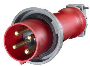 HBL4100P7W HUB 3P4W 100A 480V PIN & SLEEVE PLUG