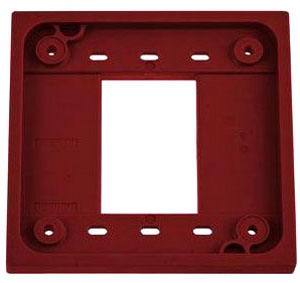 HBL4APR HUBBELL RED 4-PLEX ADAPTER PLATE 78358501406