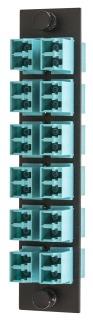 FSPLCDM12AQ HUBBELL FBR, ADAPT PNL,24 F,12LC,DUPLX,P-BZ,AQ