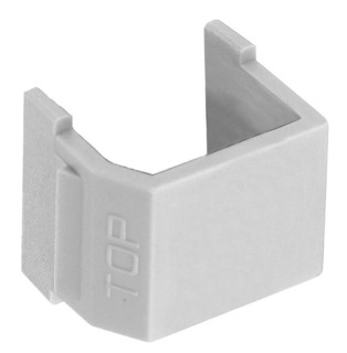 SFSBOW10 HUB SNAP-FIT, SMOOTH-BLANK, OW, 10PK