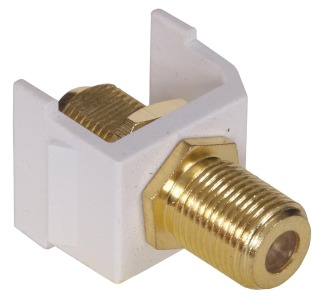 SFFGW HUB SNAP-FIT, GOLD F CONN,WH