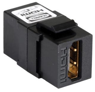 SFHC14BK HUBBELL SNAP-FIT, KEYSTONE,HDMI 1.4,A/A,BK