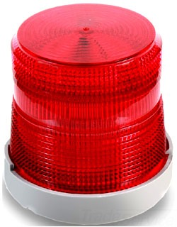 48SINR-G1-20WH EDWARDS STEADY HALOGEN BEACON 24V DC RED 78264025484
