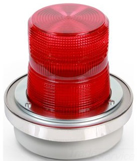 50R-N5-40WH EDW RED ADAPTABEACON