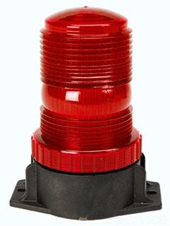 117R-EM EDWARDS LOW PROFILE STROBE - 12-80V DC RED 78264008204