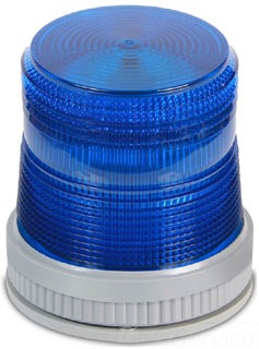 105XBRMB120A EDWARDS LED,STDY/FLSH, BLUE, 120 VAC 78264005223