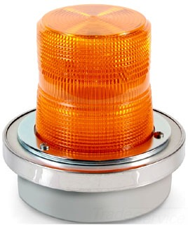 92A-N5 EDW AMBER STROBE LIGHT 120VAC