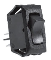SS1203-BG SEL ROCKER SWITCH SPST ON/OFF 16AMP@125VAC, 10AMP@250VAC