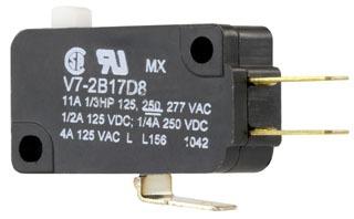 V7-1C17D8 MICRO V BASIC SWITCH V3/V7 SWITCHES 15AMP 70118584