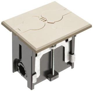 FLBAF101LA ARL ALMOND FLOOR BOX - FLI 01899704341