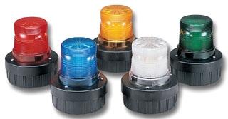 AV1-LED-024R FEDERAL LIGHT/SOUNDER COMBINATION LED 24VDC RED 78297922755