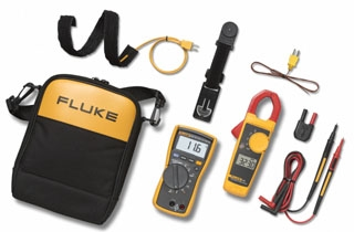 FLUKE-116/323 HVAC COMBO KIT INCLUDES FLUKE 116 MULTIMETER W/TEMP & MICROAMPS & FLUKE 323 TRUE-RMS CLAMP METER