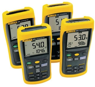 FLUKE-53-2B60HZ FLUKE SINGLE INPUT THERMOMETER W/USB RECORDING, 60HZ NOISE REJECTION 09596956510