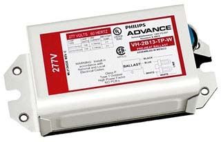 VH2B13TPBLSM ADV MAG BALLAST (2) 13W COMPACT(2-PIN) 277V