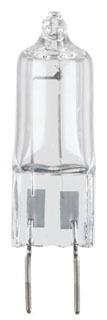 0471000 WESTINGHOUSE 20W T4 120V GY8 MOL 49MM CLEAR HALOGEN QUARTZ LAMP 36/6 PKG