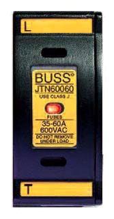 JT60060 BUS FUSEHOLDER 60A 600V SAFETY J