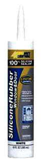 37531 CULLY WHITE SILICONE CAULK 10OZ