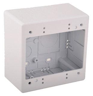 TSRW-JBD2 TYTON DUAL GANG JUNCTION BOX - WHITE 08930629987