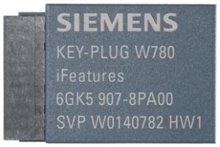 6GK59078PA00 SIEMENS KEY-PLUG W780 IFEATURES