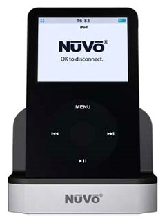 NV-RIPS NUVO REMOTE iPOD DOCK SYSTEM