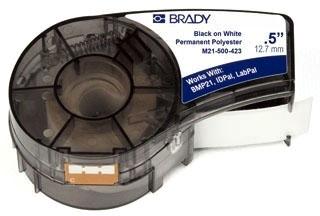 M21-500-423 BRADY 1/2