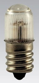 B7A EIK 105-125V.002A T4-1/2 MOL1.5 MINI NEON CAND. SCREW LAMP