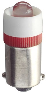LED-24-BA9S-R EIKO 24-28VAC/DC T3-1/4 BA9S RED 03129302694 10/box