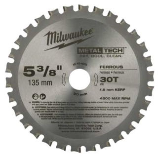 48-40-4070 MILWAUKE CIRC SAW BL 5-3/8 CBD T